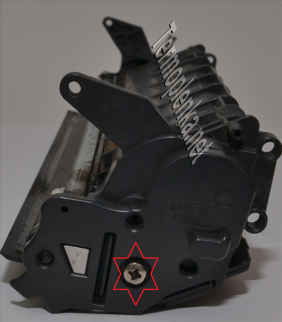 инструкция по разбору картриджа hp 51x