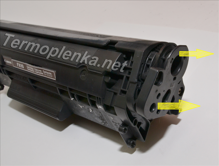 Инструкция по заправке картриджей canon fx 10