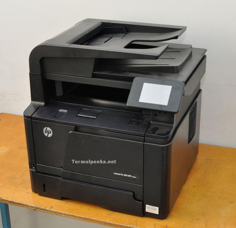 2фото-HP LaserJet PRO 400
